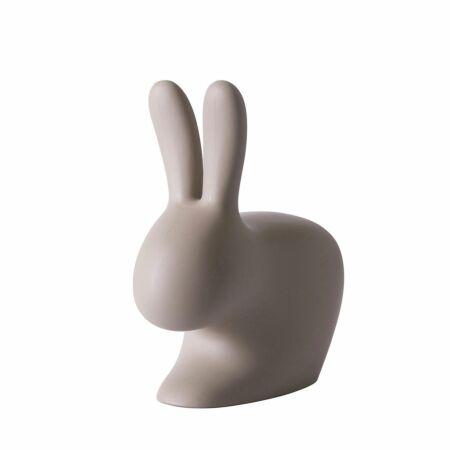 Rabbit Baby stoel Qeeboo taupe