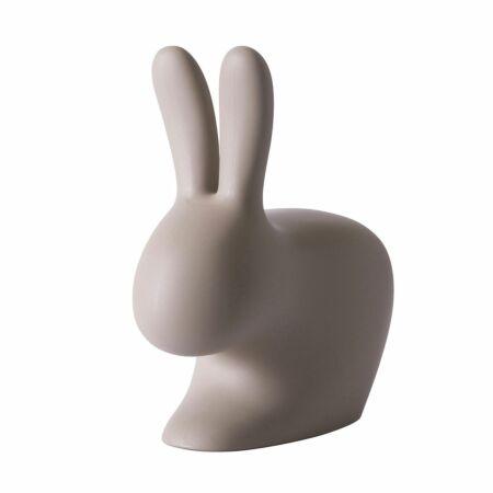 Rabbit stoel Qeeboo taupe