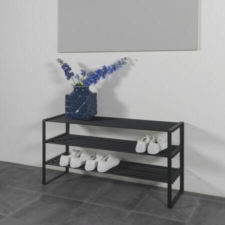 Rex schoenenrek dubbel Spinder Design - Zwart