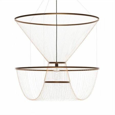 Rhythm of Light hanglamp Hollands Licht goud