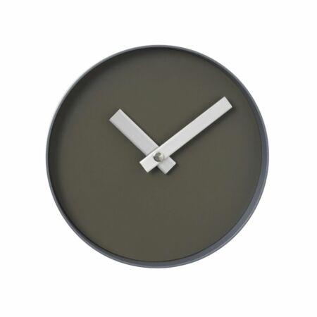 Rim wandklok Blomus Ø20 steel grey