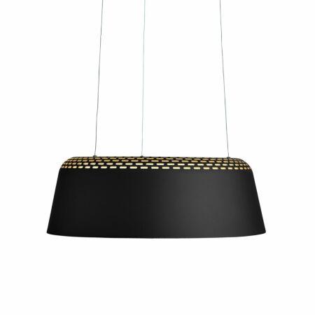 Ring hanglamp Hollands Licht zwart