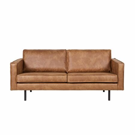 Rodeo bank BePureHome 2,5-zits cognac