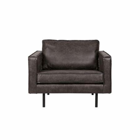 Rodeo fauteuil BePureHome zwart