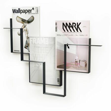 Guidelines Single tijdschriftenrek Frederik Roijé donkergrijs