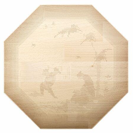 Shades of Plates bord Frederik Roijé achthoek dessin