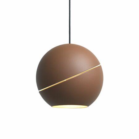 Sliced Sphere hanglamp Roijé bruin