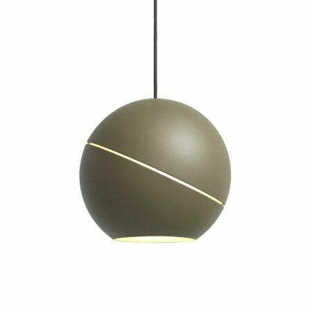 Sliced Sphere hanglamp Roijé groen