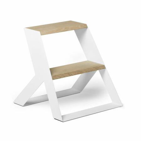 Split Step Wood keukentrap Frederik Roijé - wit