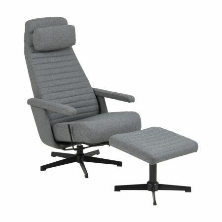 Ryde fauteuil Liv met hocker