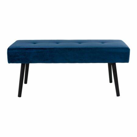 Skiby bankje House Nordic blauw velvet