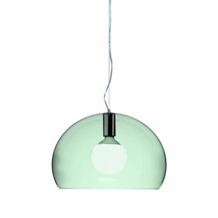 Small FL/Y hanglamp Kartell lichtgroen