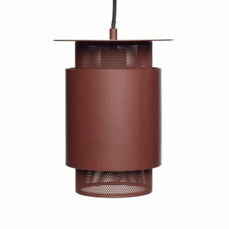 Soth hanglamp Hübsch rood