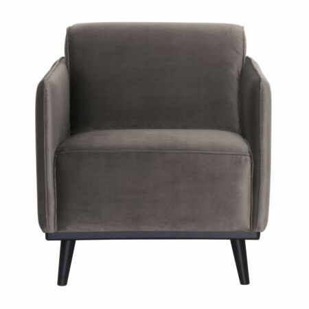 Statement fauteuil BePureHome taupe