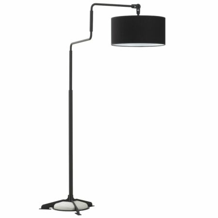 Swivel vloerlamp Functionals zwart