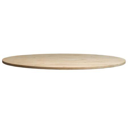 Tablo tafelblad Woood eiken onbehandeld - Ø120cm