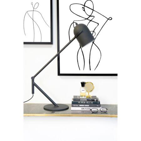 Sleek tafellamp By-Boo - Zwart