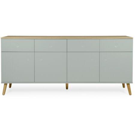 Dot dressoir Tenzo 4D4L - grijsgroen
