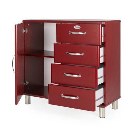 Malibu dressoir Tenzo - 1D4L - maroon