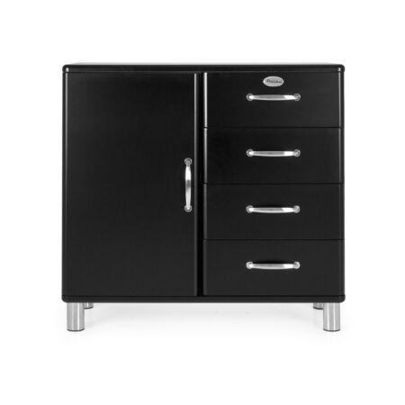 Malibu dressoir Tenzo - 1D4L - zwart