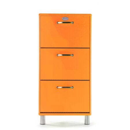 Malibu schoenenkast Tenzo - oranje