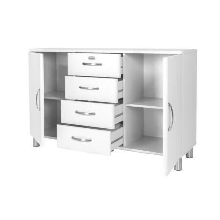 Malibu dressoir Tenzo - 2D4L - wit