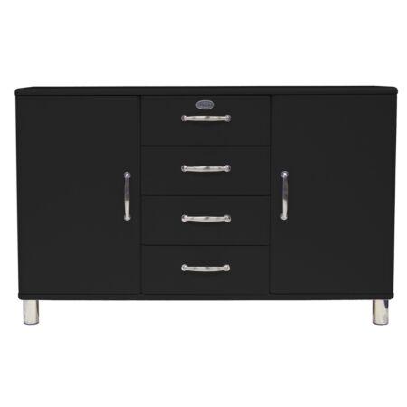 Malibu dressoir Tenzo - 2D4L - zwart