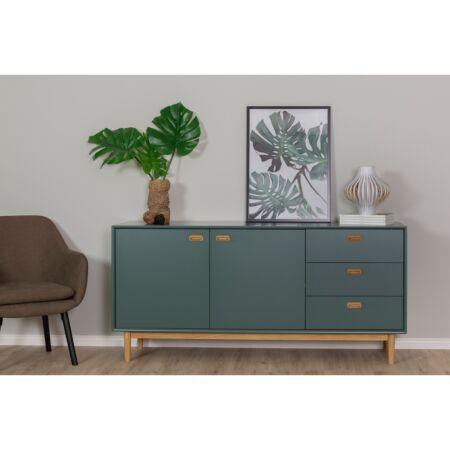 Svea dressoir Tenzo - groen - 2D3L