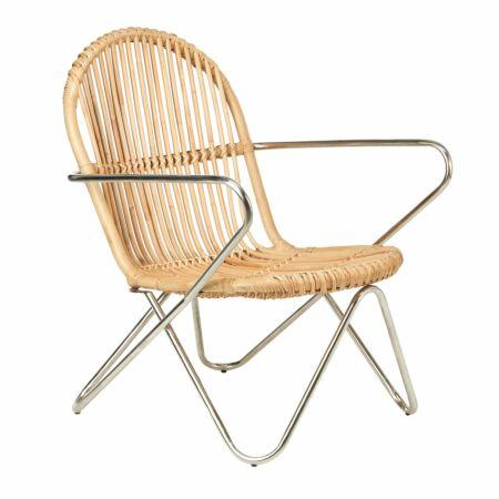 Timor fauteuil Pols Potten naturel