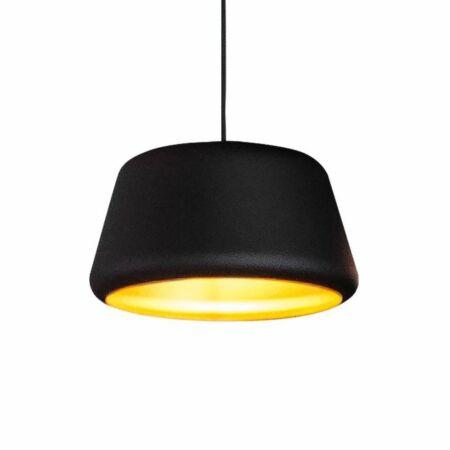 Tommy hanglamp Hala Ø32 zwart - goud