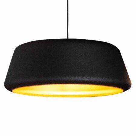 Tommy hanglamp Hala Ø60 zwart - goud
