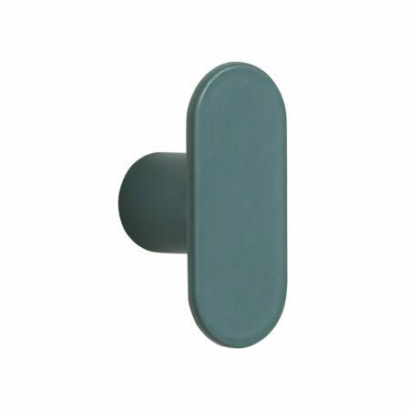 OUTLET - Vertical wandhaak Hübsch groen - set 5 stuks