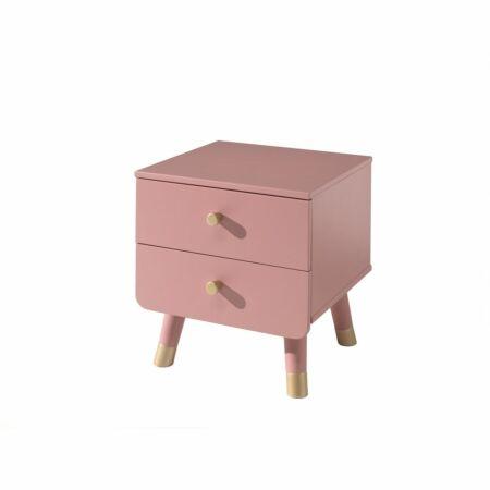 Billy nachtkastje Vipack - roze
