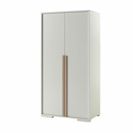 London kledingkast Vipack - 2-deurs - wit