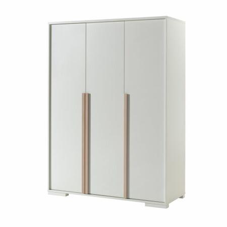 London kledingkast Vipack - 3-deurs - wit