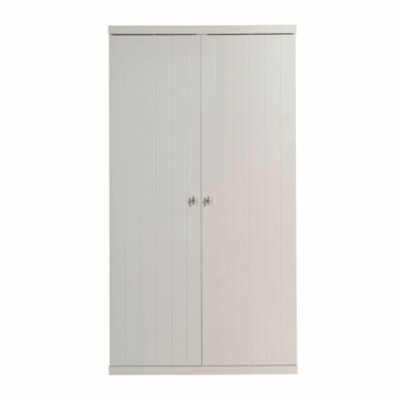 Robin kledingkast Vipack - 2-deurs - wit