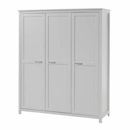 Stella kledingkast Vipack - 3-deurs - wit