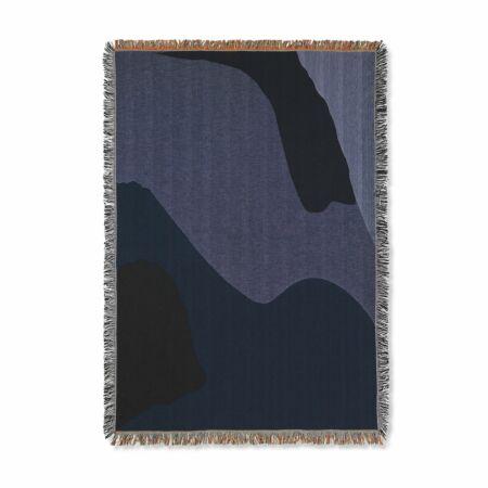 Vista plaid Ferm Living donkerblauw