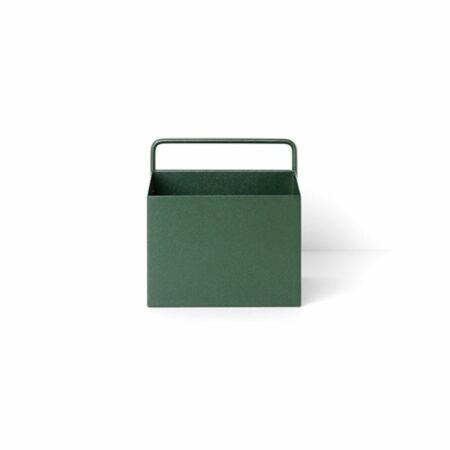 Wall Box plantenbak Ferm Living vierkant groen