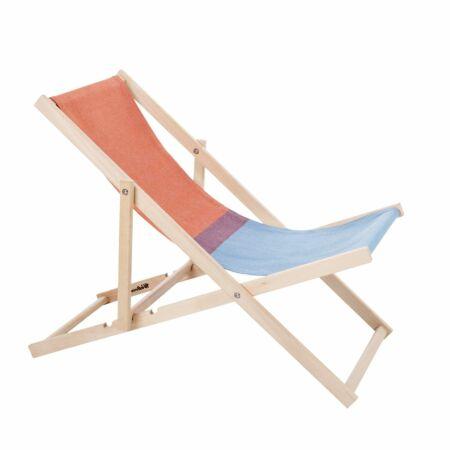 Beach Chair tuinstoel Weltevree rood - blauw