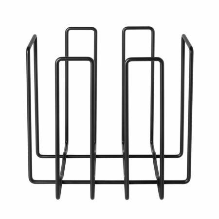 Wires tijdschriftenrek Blomus zwart