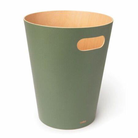 Woodrow prullenbak Umbra groen