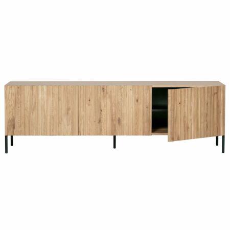 Gravure TV meubel Woood Exclusive naturel eiken