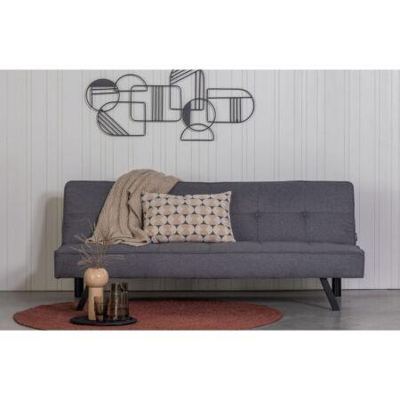 Lenn slaapbank Woood - gemeleerd - grijs