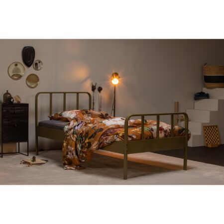 Mees bed Woood 90x200cm - army