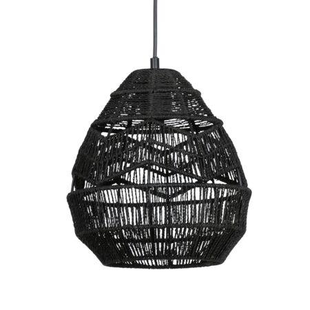 Adelaide hanglamp Woood Exclusive - Ø25 - zwart