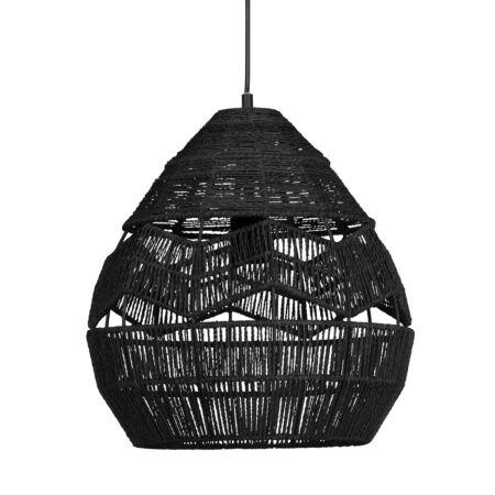 Adelaide hanglamp Woood Exclusive - Ø35 - zwart