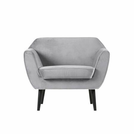 Rocco fauteuil Woood lichtgrijs