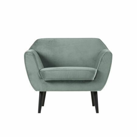 Rocco fauteuil Woood mint