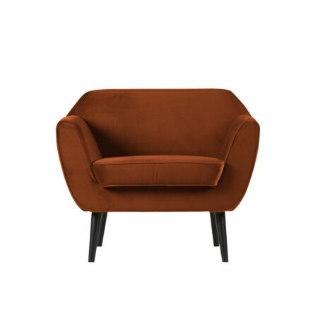 Rocco fauteuil Woood roest